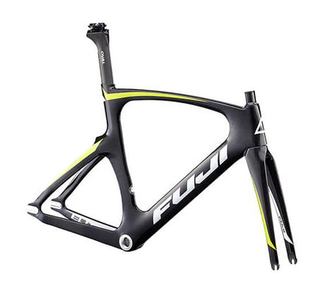 cuadro-bicicleta-fuji-track-elite-carbon-citrus-front