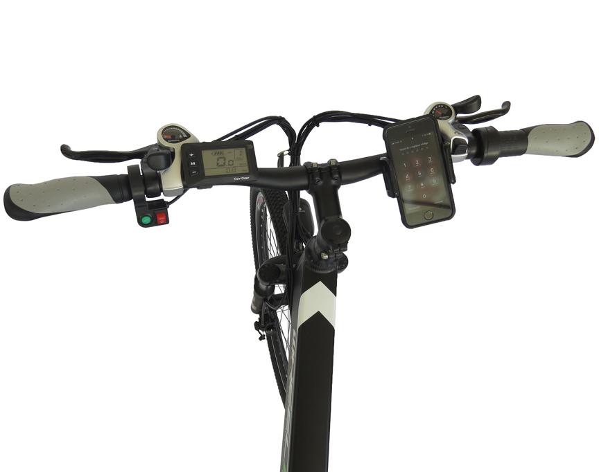 Bicicleta Eléctrica Mountain 27,5 manubrio